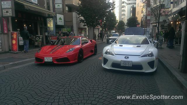 Ferrari F430 Spotted In Tokyo Japan On 12 08 2013