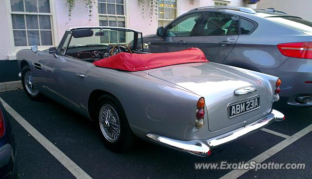 Aston Martin DB4 spotted in Epsom, United Kingdom