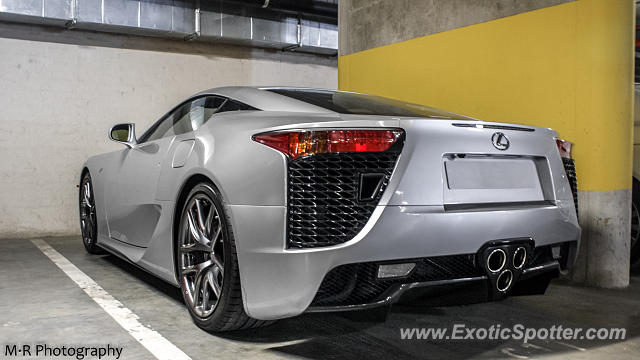 Lexus LFA Spotted In Sandton, South Africa