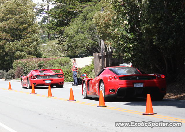 Ferrari Enzo spotted in Pebble Beach, California