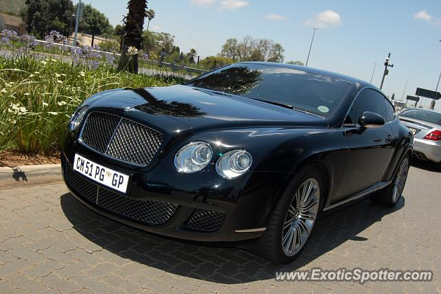 Bentley Continental Spotted In Bedfordview South Africa