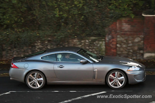 Jaguar XKR spotted in Maidstone, United Kingdom