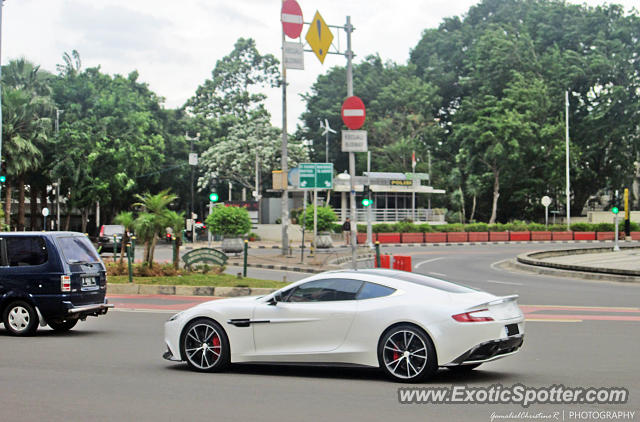 Aston Martin Vanquish Spotted In Jakarta Indonesia On