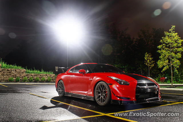 Nissan GT-R spotted in Oneonta, New York