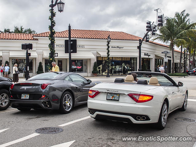 Ferrari California spotted in Palm Beach, Florida