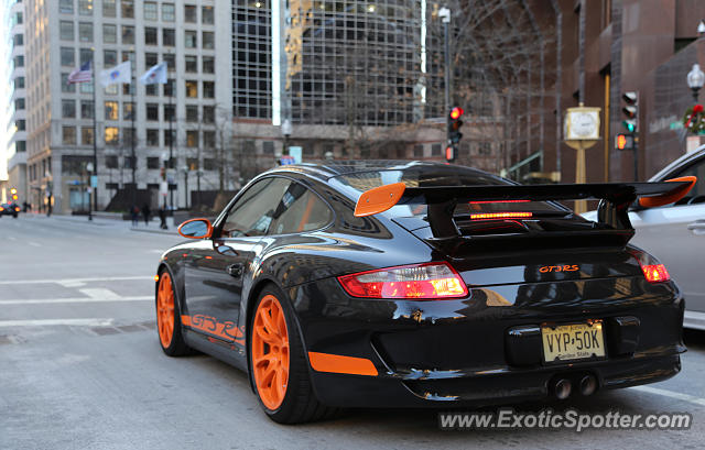 Porsche 911 GT3 spotted in Boston, Massachusetts