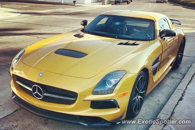 Mercedes sls amg spotted in corpus christi texas on 01 26 for Mercedes benz corpus christi sale