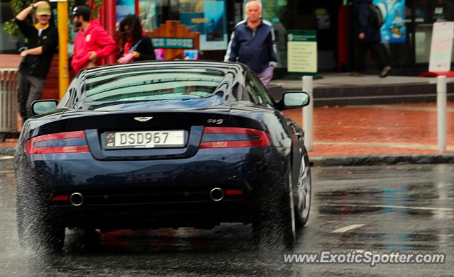 Aston Martin DB9 spotted in Auckland, New Zealand
