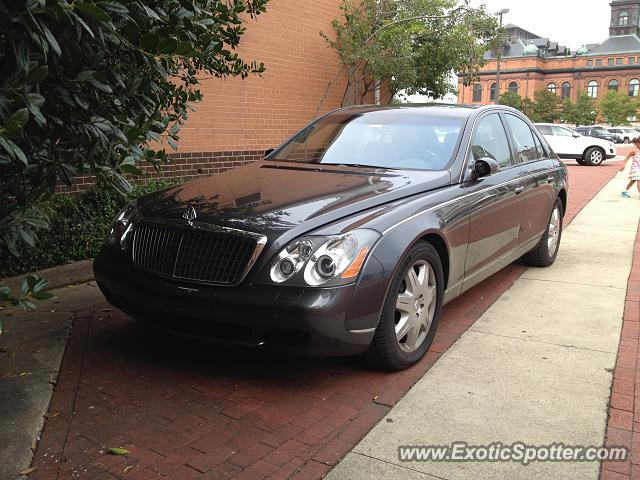 mercedes maybach spotted in baltimore maryland on 08 15