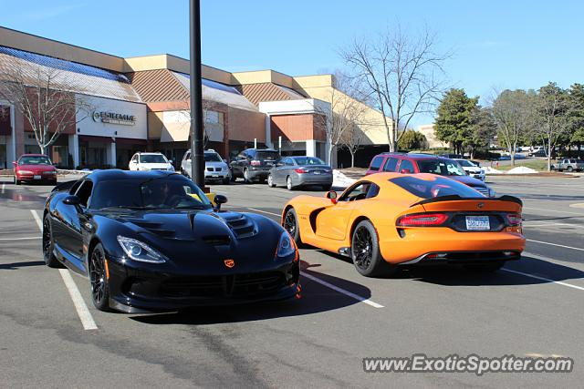 Dodge Viper spotted in Raleigh, North Carolina