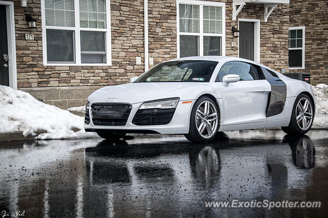 Audi R8 spotted in State College, Pennsylvania