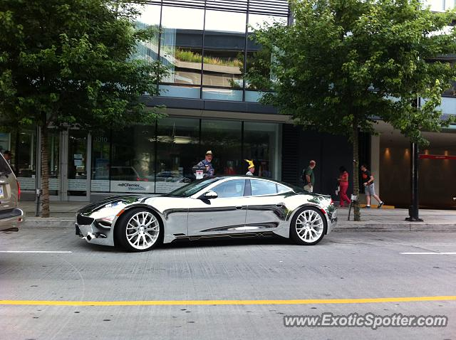 Fisker Karma spotted in Vancouver, Canada