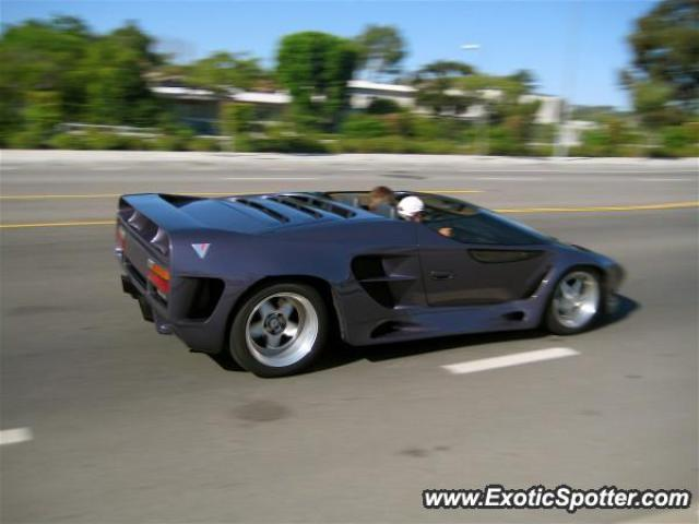 Vector W8 spotted in Calabasas, CA, California