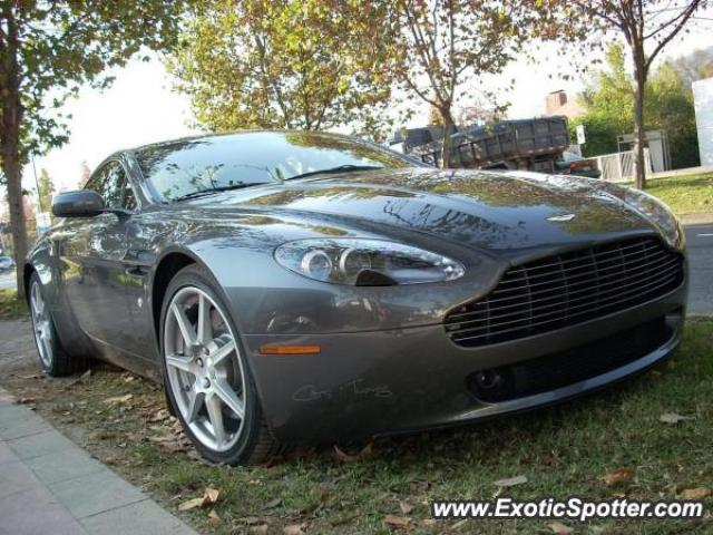 Aston Martin Vantage spotted in Santiago, Chile