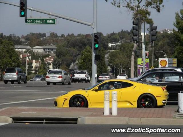 Ferrari F430 spotted in Newport, California