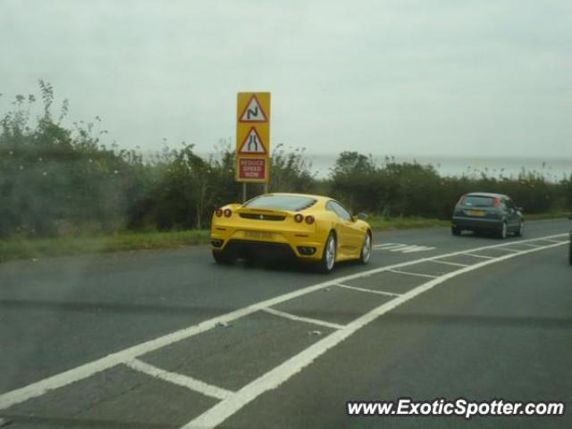 Ferrari F430 spotted in Birmingham, United Kingdom
