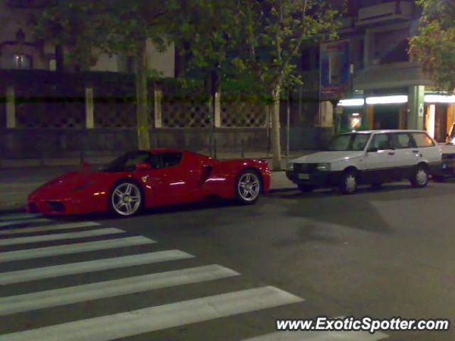 Ferrari Enzo Spotted In Catania, Italy