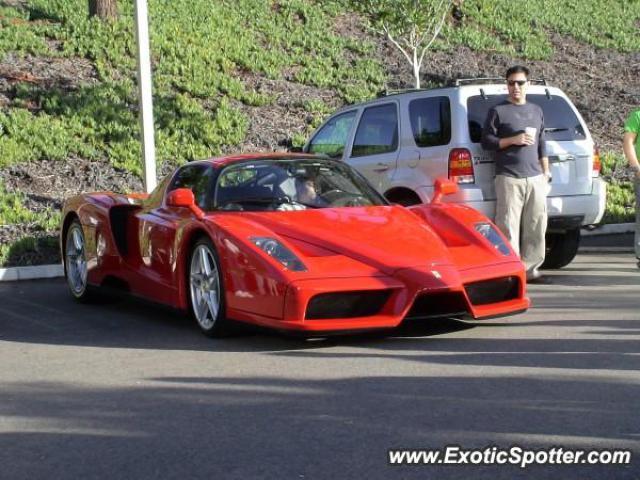 Ferrari Enzo Spotted In Irvine California On 11092007