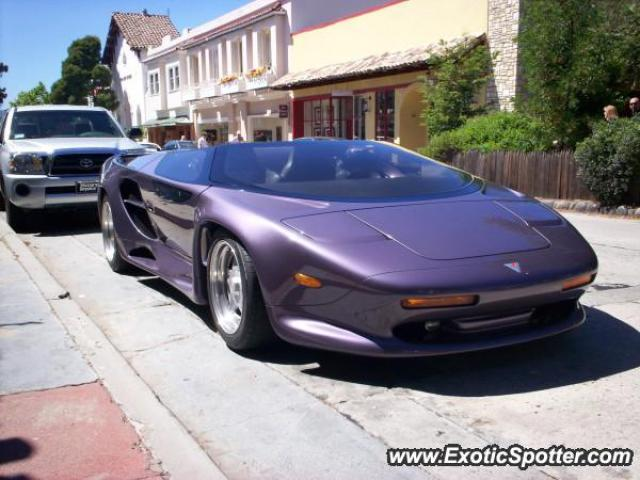 Vector M12 spotted in Carmel,Monterey, California