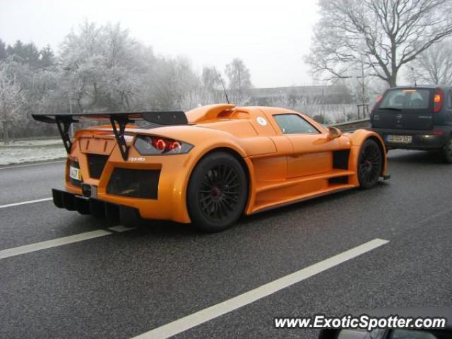 Gumpert Apollo spotted in Hamburg, Germany