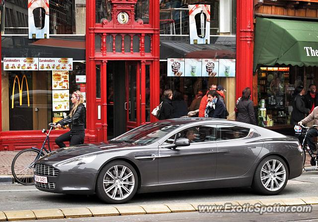 Aston Martin Rapide Spotted In Amsterdam Netherlands On 04 12 2012