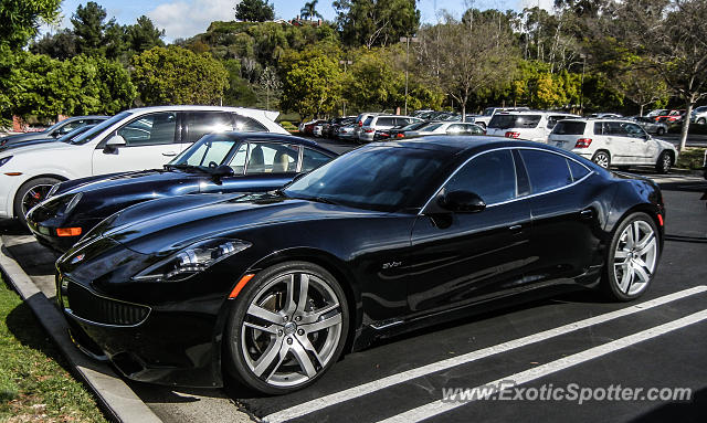Fisker Karma spotted in Los Angeles, California