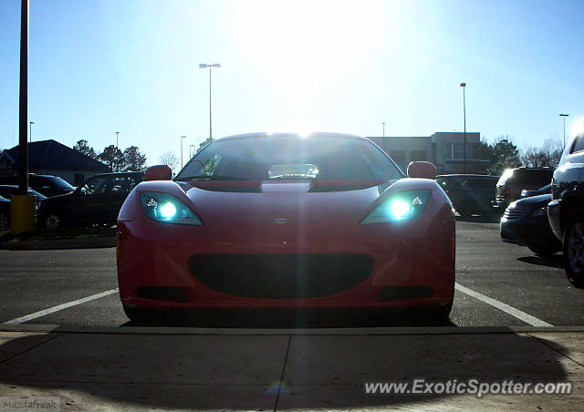 Lotus Evora spotted in Cary, North Carolina