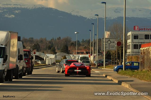 Ferrari LaFerrari spotted in Geneva, Switzerland