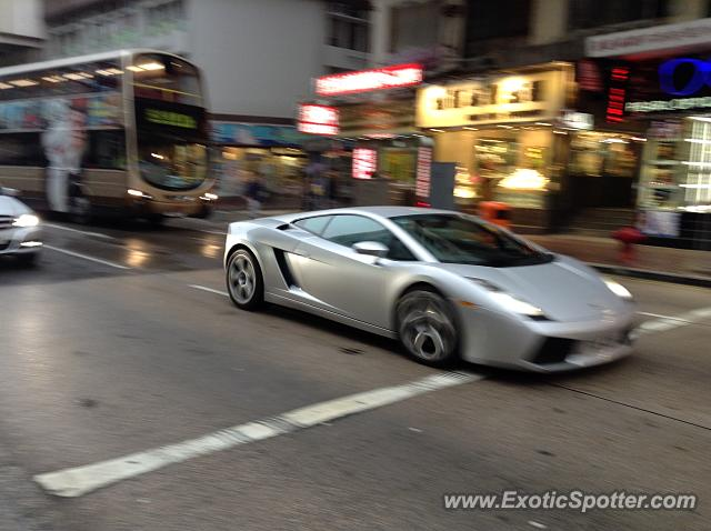 lamborghini gallardo spotted in hong kong china on 03 23 2014 photo 6. Black Bedroom Furniture Sets. Home Design Ideas