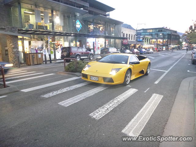Lamborghini Murcielago Spotted In Queenstown New Zealand On