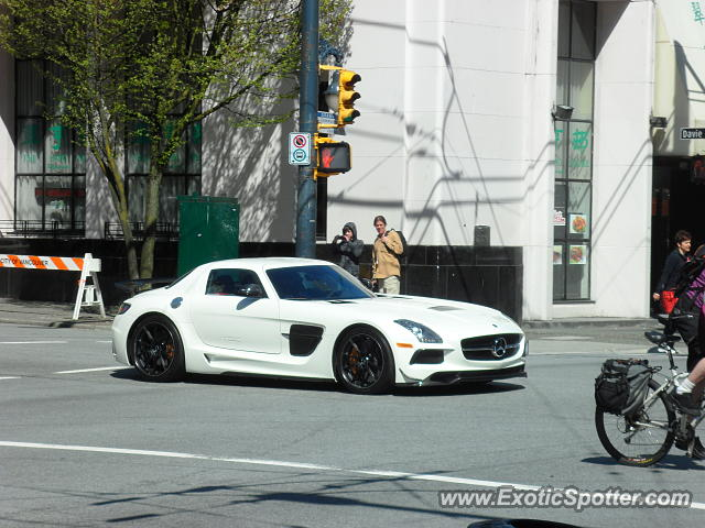 Mercedes SLS AMG spotted in Vancouver, Canada