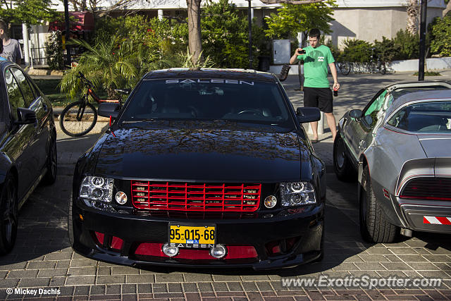 Saleen S281 spotted in Tel Aviv, Israel