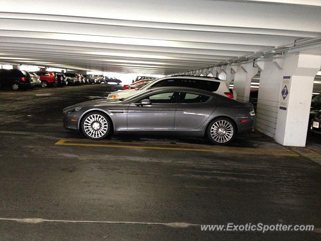 Aston Martin Rapide Spotted In Tysons Corner Virginia On 03 20 2014