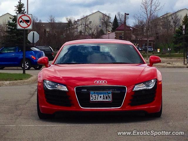 Audi R8 spotted in Chanhassen, Minnesota