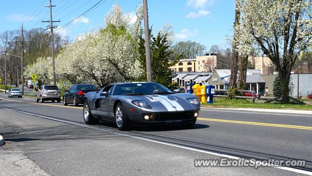 Ford GT spotted in Bernardsville, New Jersey