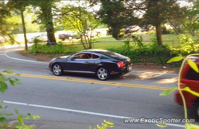 Bentley Continental spotted in Knightdale, North Carolina