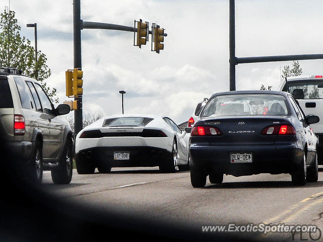 Lamborghini Huracan spotted in Federal Heights, Colorado