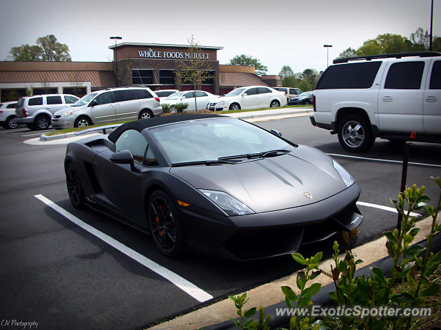 Lamborghini north carolina