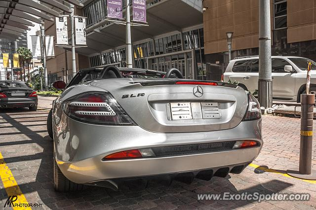 Mercedes SLR spotted in Sandton, South Africa