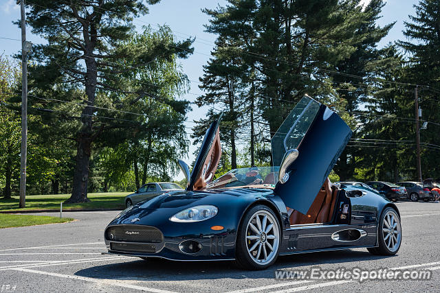 Spyker C8 spotted in Reading, Pennsylvania