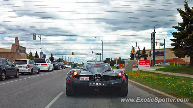 Pagani Huayra spotted in Toronto, Ontario, Canada on 05/17/2014