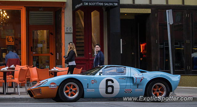 Ford GT spotted in Milwaukee, Wisconsin
