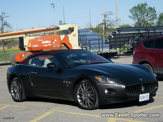 Brampton (ON) Canada  city photo : Maserati GranCabrio spotted in Brampton, ON,, Canada on 05/24/2014
