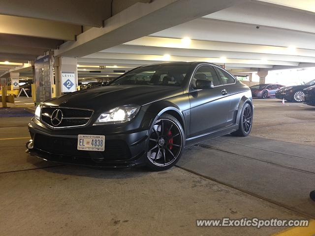 Mercedes c63 amg black series spotted in tyson 39 s corner for Mercedes benz tysons corner va