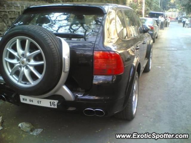 Porsche Cayenne Gemballa 650 spotted in Mumbai, India
