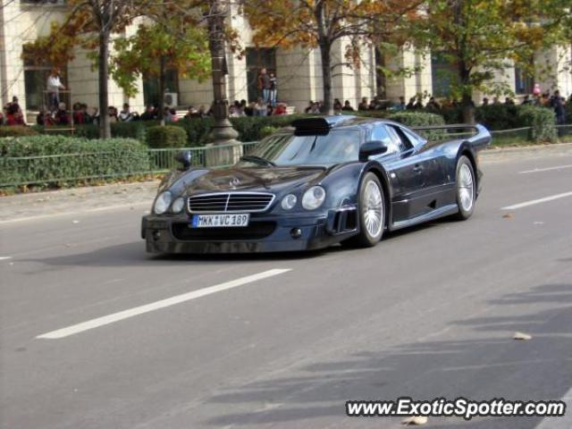Mercedes CLK-GTR spotted in Bucuresti, Romania