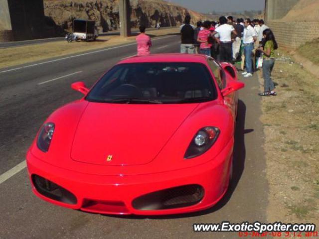 Ferrari F430 Spotted In Bangalore, India