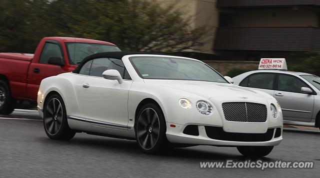 Bentley Continental spotted in Baltimore, Maryland