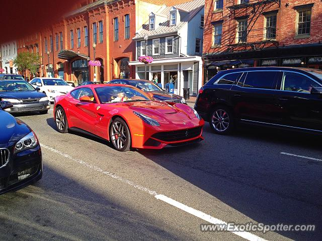 Ferrari F12 spotted in Washington, D.C., Virginia on 06/06/2014, photo