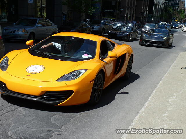 mclaren mp4 12c spotted in montreal canada on 06 07 2014. Black Bedroom Furniture Sets. Home Design Ideas